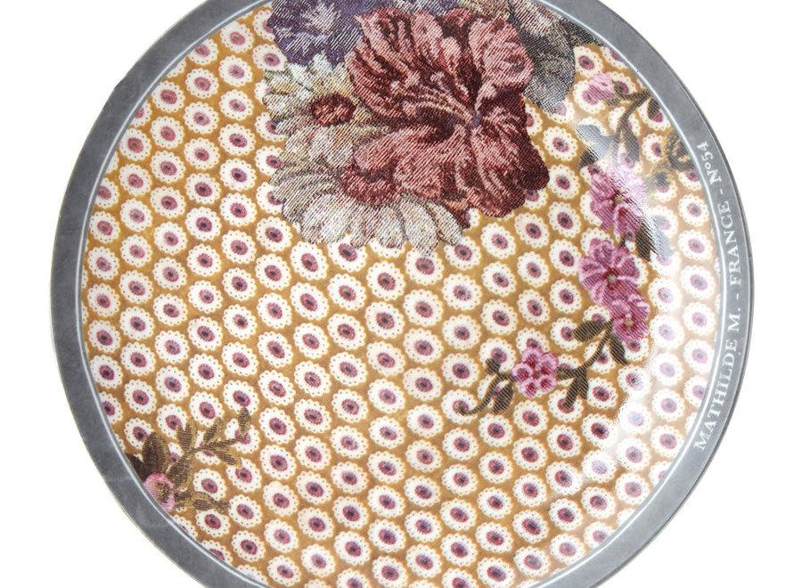 Geschenkdoos met 4 Madame de Montespan dessertborden