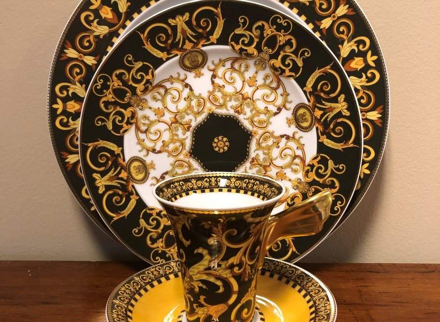 """Versace - Porcelain set from the  """"Barocco"""""""