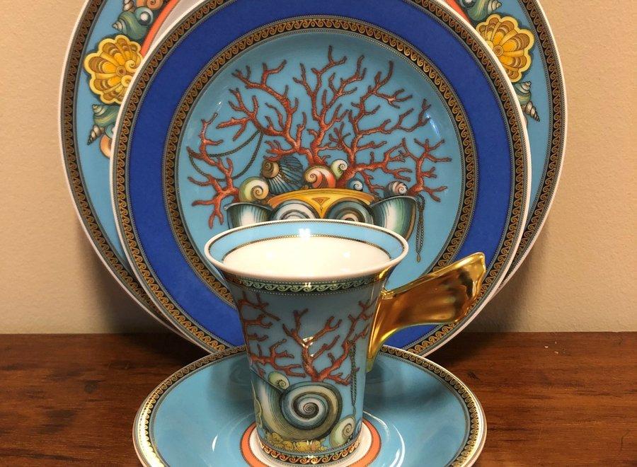 """Versace - Porcelain set from the  """"Les Trésors de la Mer"""""""
