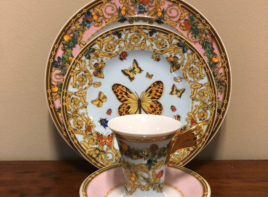 """Versace - Porseleinset van de collectie """"Le Jardin de Versace"""""""