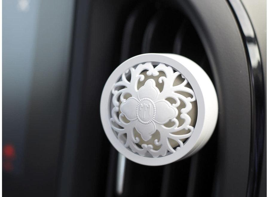 Geurverspreider voor in de auto Escapades - Fleur de Coton