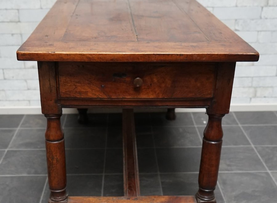 17th Century French table in walnut