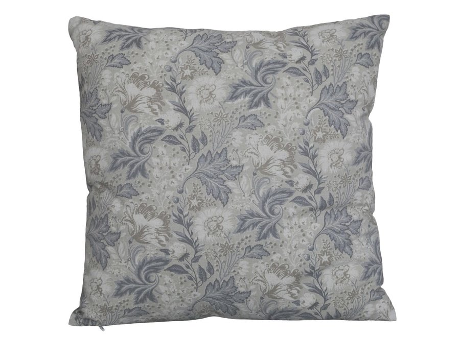 Cushion with leaves