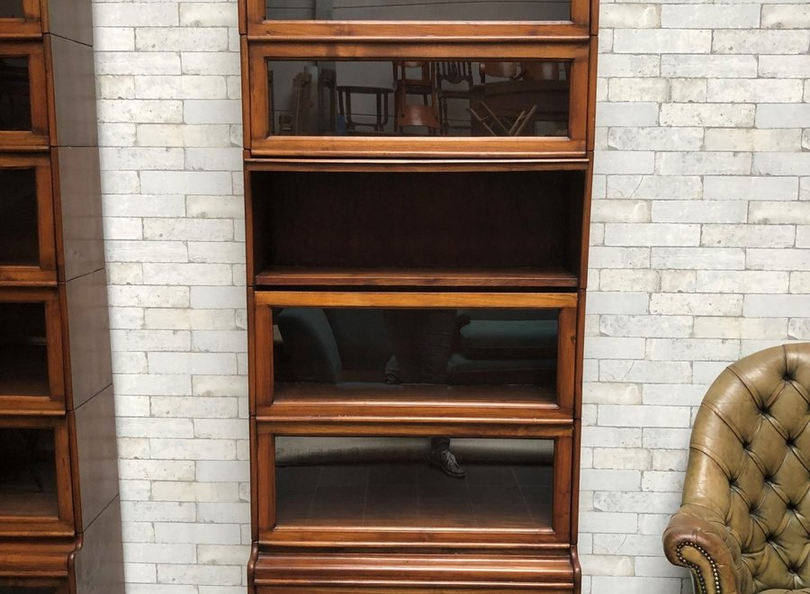 Boekenkast in Globe Wernicke - stijl met 6 modules