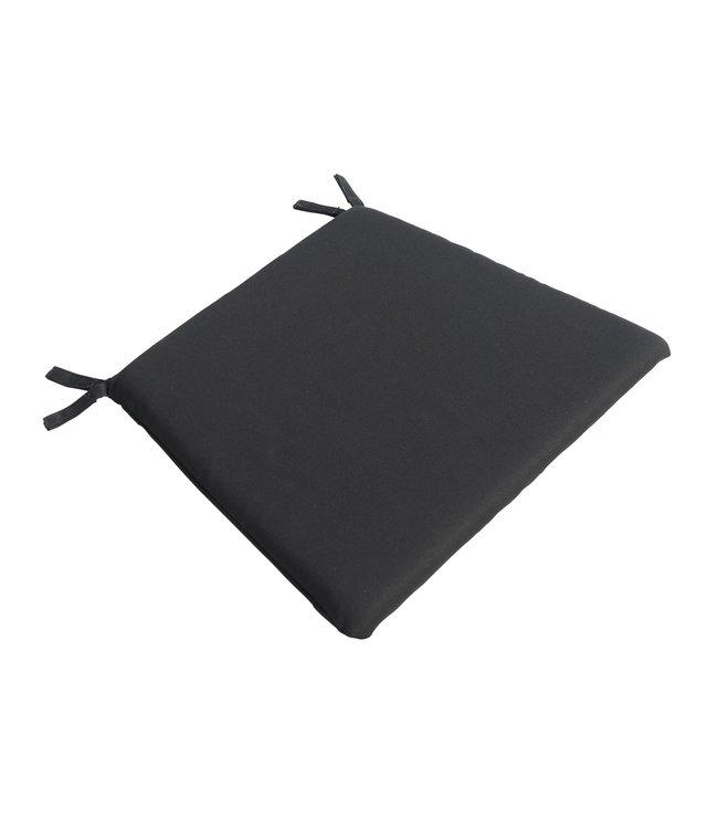 Guiño zitkussen voor Ep en Afi tuinstoel, kleur zwart.