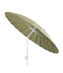 Beach7 Shanghai parasol rond Spunacrylic doek