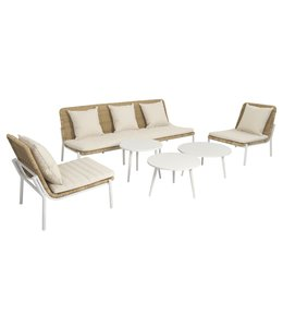 Beach7 Amigo 6 delige lounge set