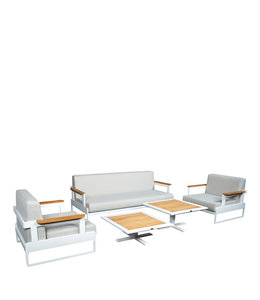 Beach7 Cube Loungeset 5 dlg
