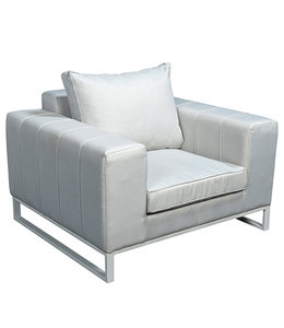 Beach7 Blizzard quilted loungechair