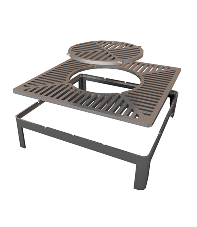 Quan 3 in 1 Large Grill and Wok