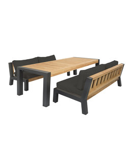 Guiño Bellevue low dining set