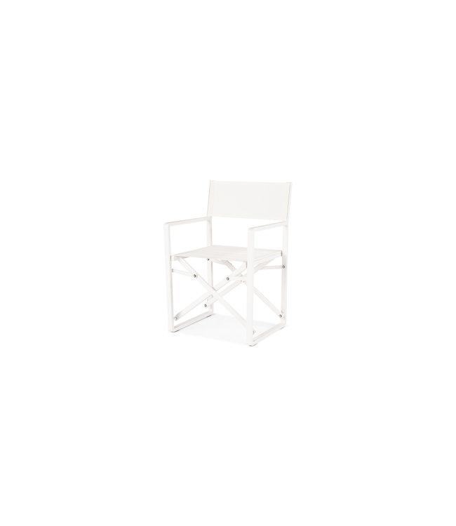 Beach7 Avalon regiseur stoel aluminium textileen