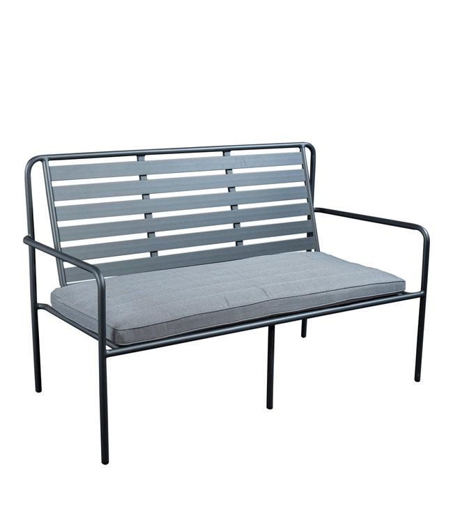 Beach7 Briant aluminium tuinbank met zitkussen