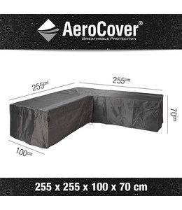 Aerocover loungesethoes hoek L-Vorm 255x255x100x70 cm
