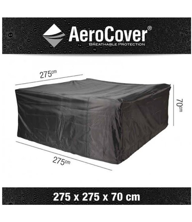 Aerocover loungesethoes Vierkant 275x275x70 cm