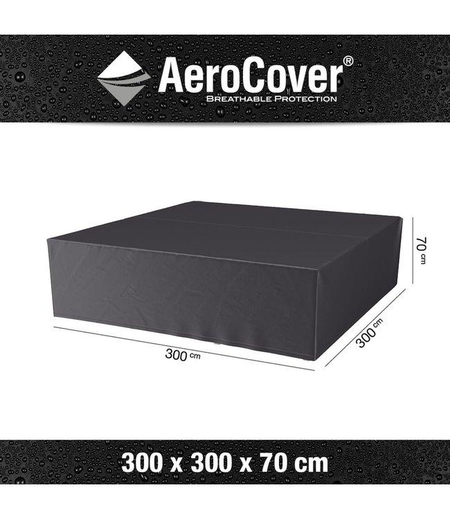 Aerocover loungesethoes Vierkant 300x300x70 cm