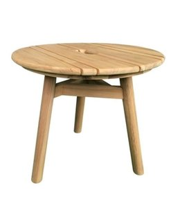 Guiño Taburete Coffee table teak ROUND 50x45cm