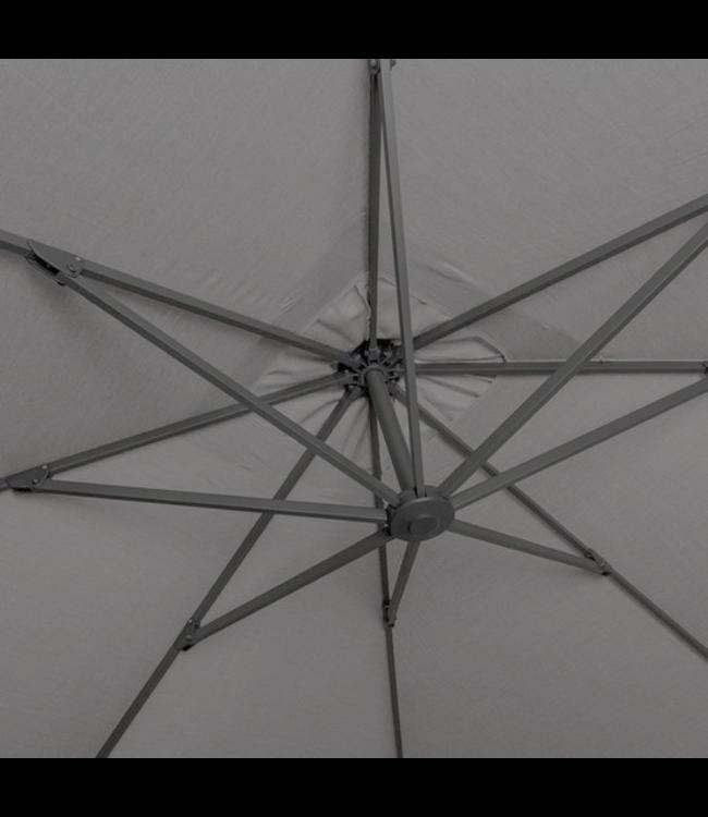Jardinico Jardinico Malaga parasol 300x400cm antraciet frame