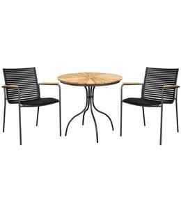 Mood stoel - Mood tafel 3-delige tuinset