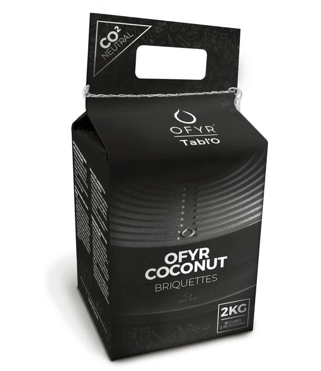 Ofyr kokosbriquettes 2KG