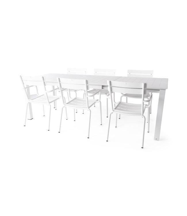 Beach7 7- Delige set avignon stoel met avalon tafel