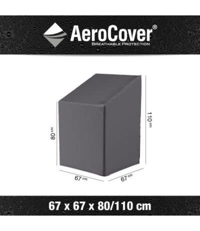 Aerocover hoes 67 x 67 x 110 cm voor max. 6 stapelstoelen.