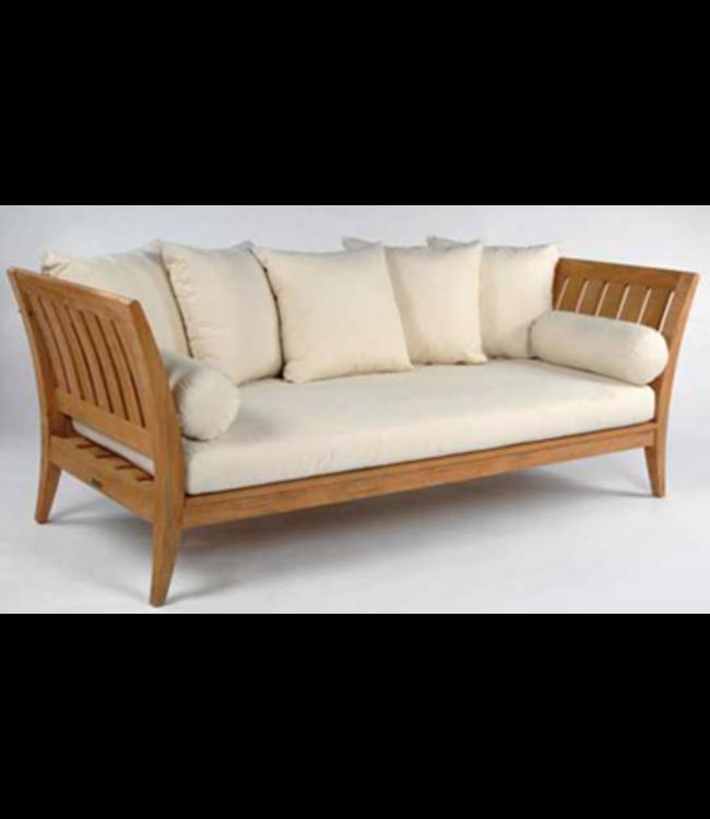 Beach7 Cozy Jenna sofa voor 2 personen 140x70x80cm Teak