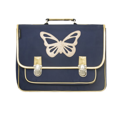 CARAMEL & CIE C&C CARTABLE GM PAPILLON BLEU