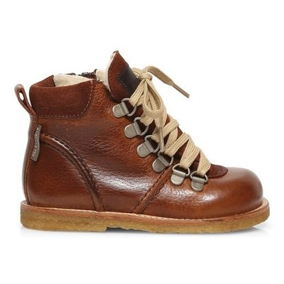 ANGULUS ANGULUS TEX BOOT LACE/ZIP I BROWN