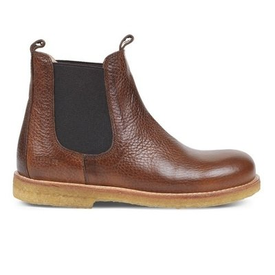 ANGULUS ANGULUS CHELSEA BOOT I BROWN