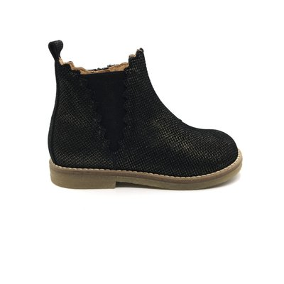 OCRA OCRA ANKLE BOOT UNA BLACK GOLD