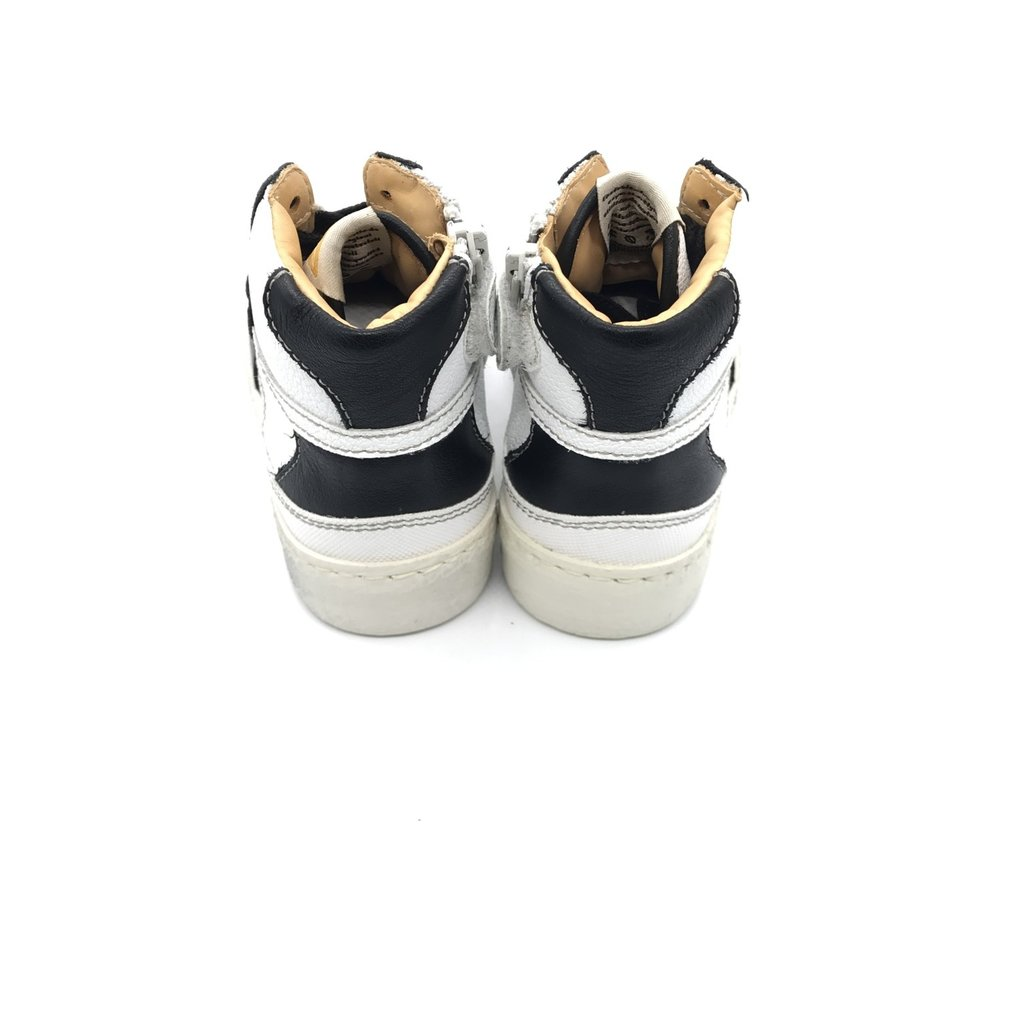 OCRA OCRA SNEAKER HIGH BLACK WHITE