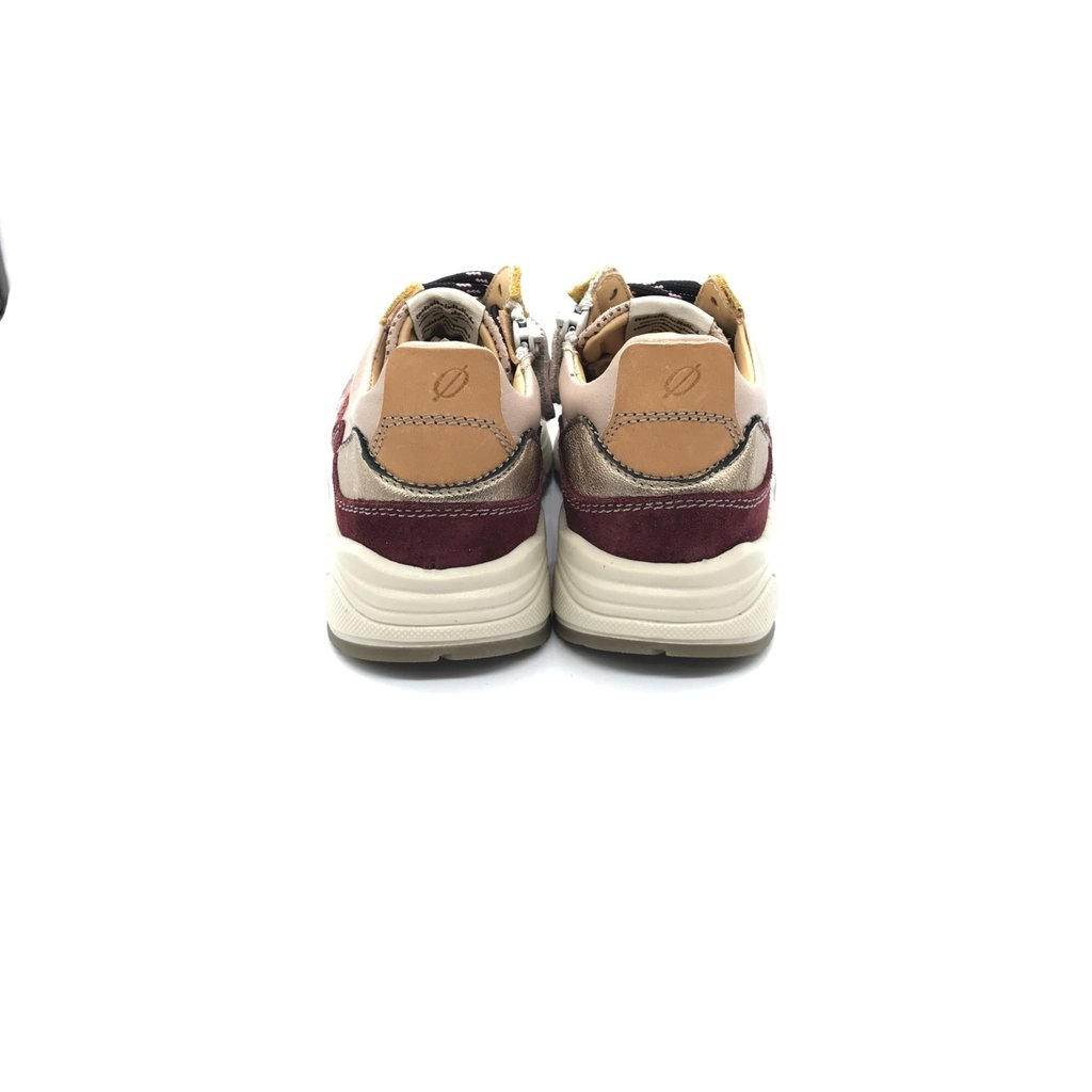 OCRA OCRA SNEAKER HIGH BORDEAUX ROSA