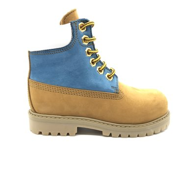 GALLUCCI GALLUCCI HIGH BOOT CAMEL PINK BLUE