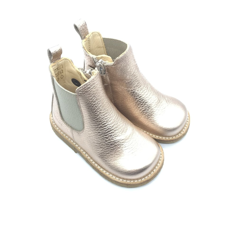 ANGULUS ANGULUS CHELSEA BOOT I LIGHT COPPER BEIGE