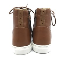 YOUNG SOLES YOUNG SOLES HENRY LEATHER CHESTNUT BROWN 32