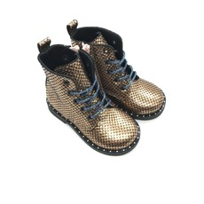 RONDINELLA RONDINELLA FIRST BOOT PYTHON ROSA BLUE
