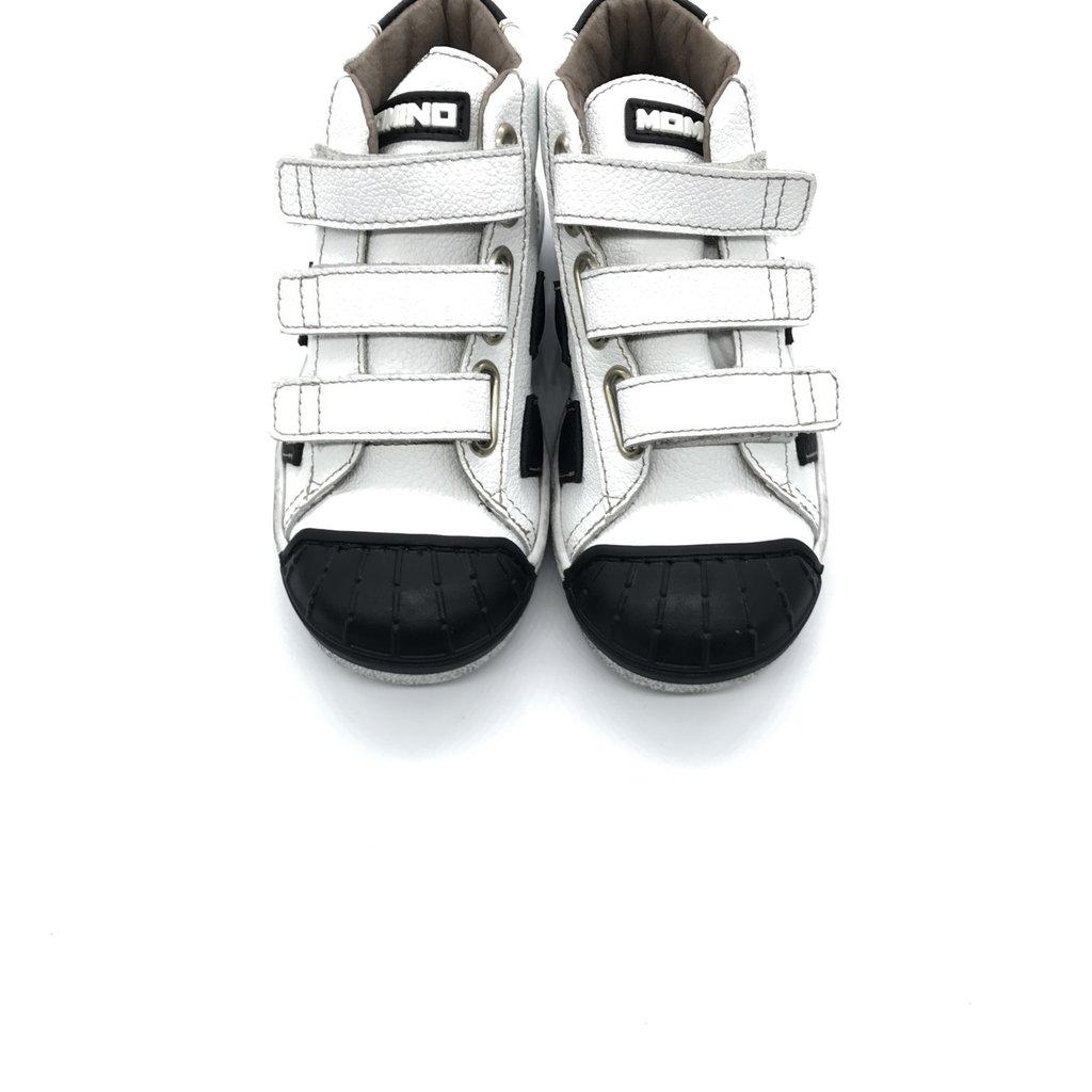 MOMINO MOMINO SNEAKER RECYCLE WHITE BLACK
