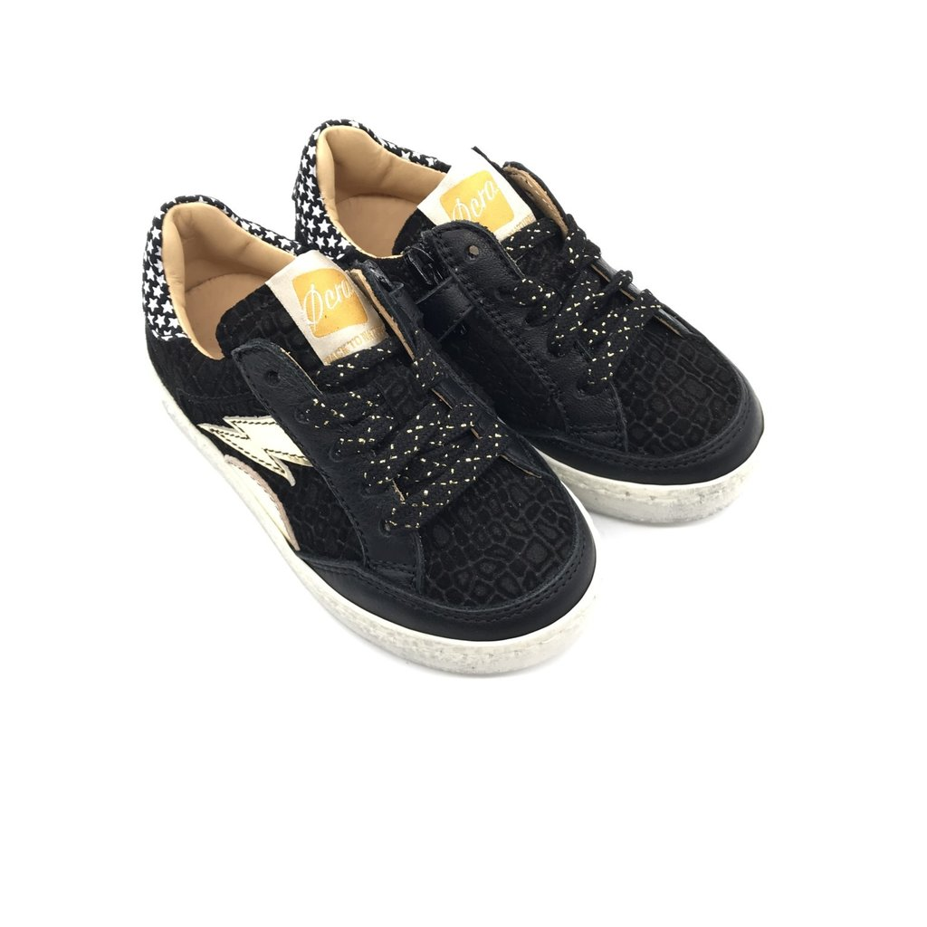 OCRA OCRA SNEAKER MADRID BLACK GOLD