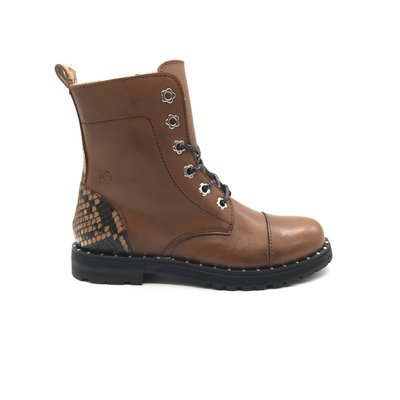 RONDINELLA RONDINELLA BOOT FLOWER CAMEL