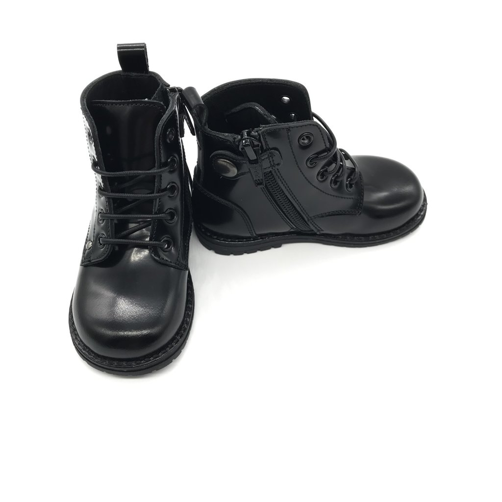 RONDINELLA RONDINELLA FIRST BOOT DM BLACK