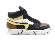 RONDINELLA RONDINELLA SNEAKER HIGH CAMEL BLUE