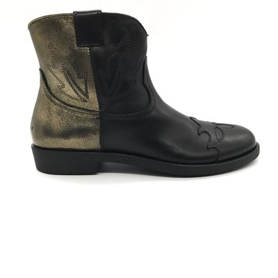 RONDINELLA RONDINELLA BOOT BLACK GOLD