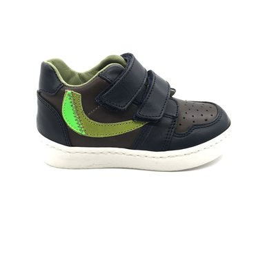 RONDINELLA RONDINELLA FIRST SNEAKER BLUE GREEN