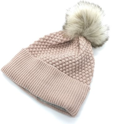 MP DENMARK MP CHUNKY OSLO BEANIE FRENCH ROSE