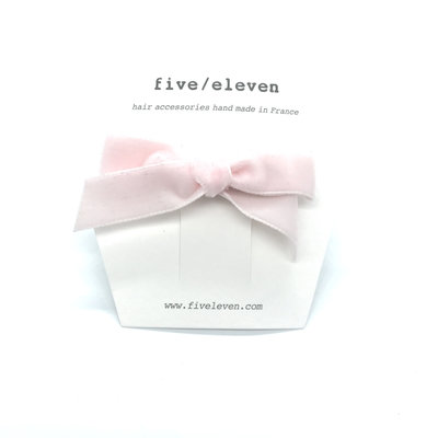 FIVE-ELEVEN FIVE-ELEVEN VELOURS SINGLE LIGHT PINK