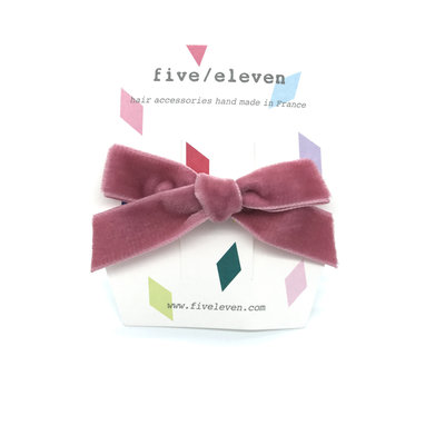 FIVE-ELEVEN FIVE-ELEVEN VELOURS SINGLE OLD PINK