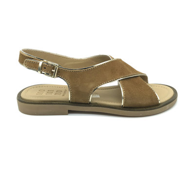 MOMINO MOMINO SANDAL SUEDE CAMEL