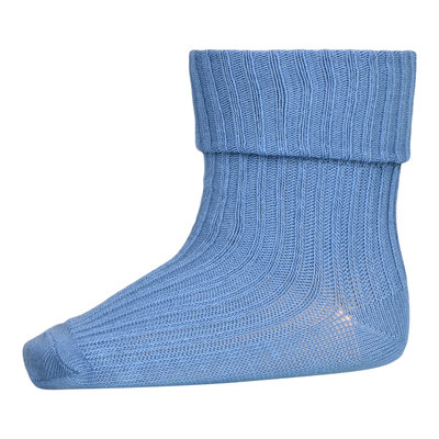 MP DENMARK MP COTTON RIB BABY SOCKS CAPTAINS BLUE