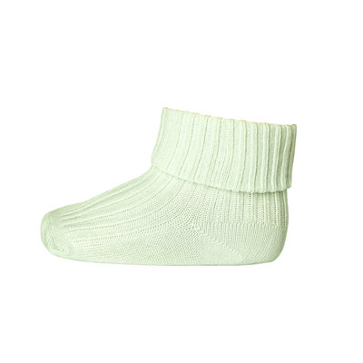 MP DENMARK MP COTTON RIB BABY SOCKS MINT